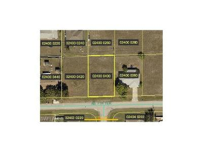 Cape Coral FL Residential Lots & Land For Sale: $25,000