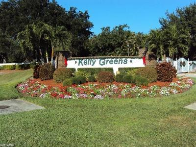 Fort Myers Condo/Townhouse For Sale: 12520 Kelly Greens Blvd #344
