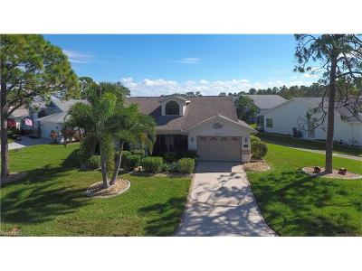 North Fort Myers Single Family Home For Sale: 3481 Clubview Dr