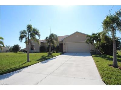 Cape Coral FL Single Family Home For Sale: $249,999