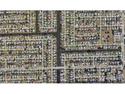 Cape Coral FL Residential Lots & Land For Sale: $89,900