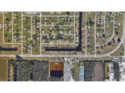 Cape Coral FL Residential Lots & Land For Sale: $29,900