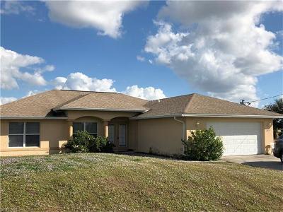 Cape Coral FL Single Family Home For Sale: $219,900
