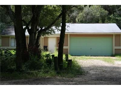 North Fort Myers Single Family Home For Sale: 19511 Slater Rd