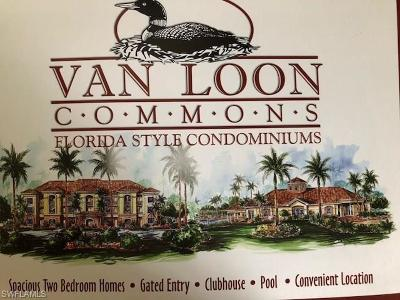 Cape Coral Condo/Townhouse For Sale: 1105 Van Loon Commons Cir #104