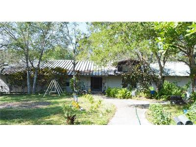 Labelle Single Family Home For Sale: 2805 & 2835 Case Rd