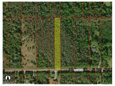 Golden Gate Estates Residential Lots & Land For Sale: 37th Ave NE