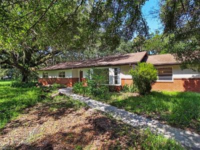 North Fort Myers Single Family Home For Sale: 17801 Wells Rd