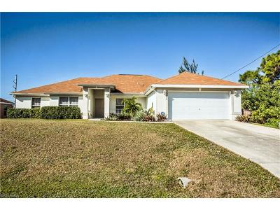Cape Coral FL Single Family Home For Sale: $250,000