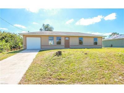 Lehigh Acres Single Family Home For Sale: 2907 3rd St SW