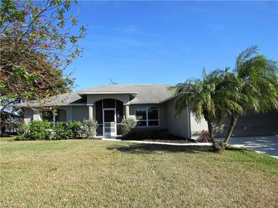 Cape Coral Single Family Home For Sale: 3911 SW 23rd Ave