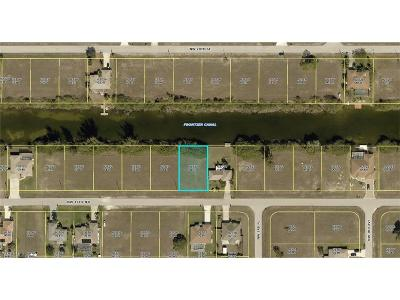 Cape Coral Residential Lots & Land For Sale: 325 NW 19th Ter