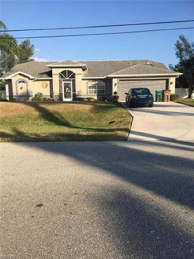 Cape Coral, Matlacha Single Family Home For Sale: 4415 SW 20th Ave