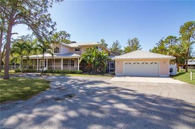 Cape Coral Single Family Home For Sale: 12761 Eagle Rd