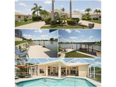 Cape Coral FL Single Family Home For Sale: $465,000