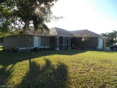 Cape Coral Single Family Home For Sale: 2533 SW 26th Ave