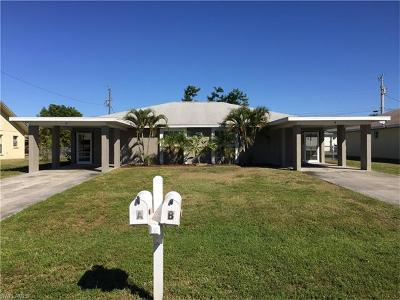 Cape Coral Multi Family Home For Sale: 1025 SE 11th Ter #A-B