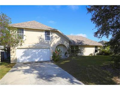 Cape Coral Single Family Home For Sale: 1221 SW 39th St