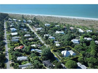Sanibel FL Single Family Home For Sale: $1,349,000