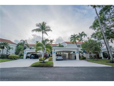 Fort Myers Condo/Townhouse For Sale: 9617 Halyards Ct #13