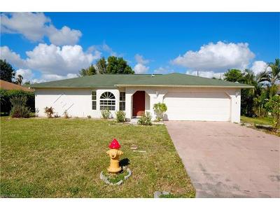 Cape Coral Single Family Home For Sale: 1107 SE 37th St