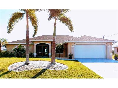 Cape Coral FL Single Family Home For Sale: $278,450