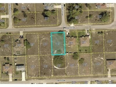 Lee County Residential Lots & Land For Sale: 3813 1st St SW