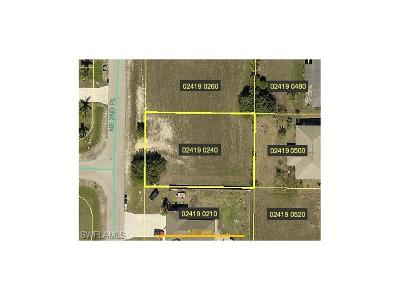 Lee County Residential Lots & Land For Sale: 1101 NE 2nd Pl