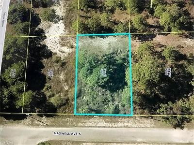 Lee County Residential Lots & Land For Sale: 1016 Maxwell Ave S