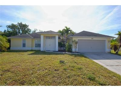 Cape Coral Single Family Home For Sale: 1402 SW 9th Ter