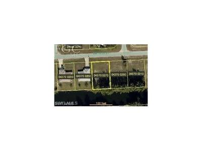 Lee County Residential Lots & Land For Sale: 842 SW 15th St