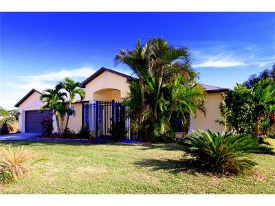 Cape Coral FL Single Family Home For Sale: $219,000