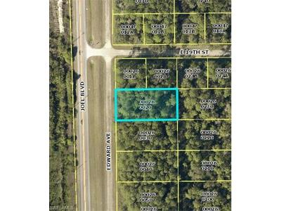 Lehigh Acres Residential Lots & Land For Sale: 1820 Edward Ave