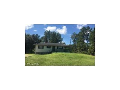 Lehigh Acres Single Family Home For Sale: 1103 W 17th St