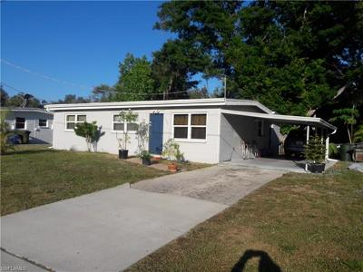 Fort Myers Single Family Home For Sale: 1324 Brookhill Dr