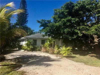 Bonita Springs, Fort Myers Beach, Marco Island, Naples, Sanibel, Cape Coral Multi Family Home For Sale: 1357 Jamaica Dr