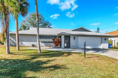 Cape Coral, Matlacha, North Fort Myers Single Family Home For Sale: 7228 Reymoor Dr
