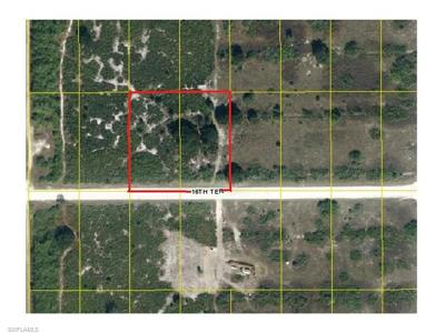 Hendry County Residential Lots & Land For Sale: 7896+7860 16th Ter