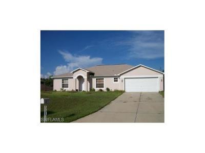 Lehigh Acres Single Family Home For Sale: 517 Magnolia Ave