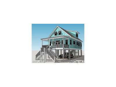 Sanibel Single Family Home For Sale: 1550 Center St