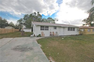 Fort Myers Single Family Home For Sale: 13231 Fourth St