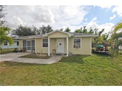 Fort Myers Single Family Home Pending With Contingencies: 3628 Suntrust Dr