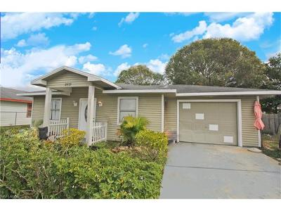 Fort Myers Single Family Home For Sale: 2539 Jean Marie Ct