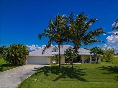 Cape Coral, Matlacha, North Fort Myers Single Family Home For Sale: 3407 NW 17th Ln