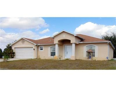 Lehigh Acres Single Family Home For Sale: 2910 22nd St SW