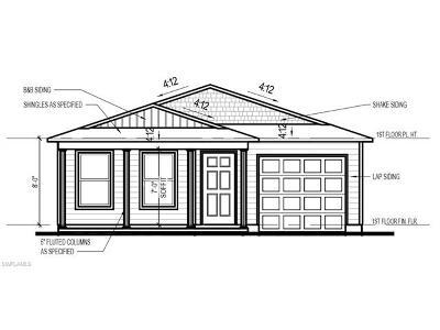 Lehigh Acres Single Family Home For Sale: 9105 Aegean Cir