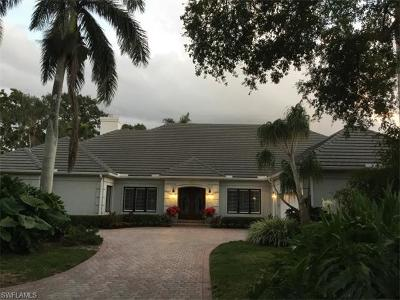 Naples Single Family Home For Sale: 726 Bay Tree Ct