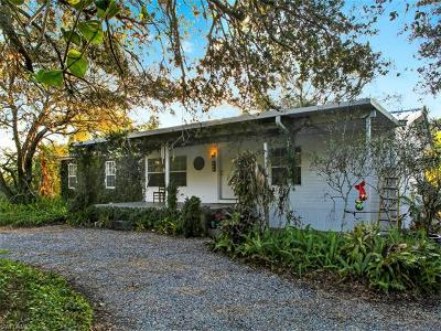 North Fort Myers Single Family Home For Sale: 18661 Old Bayshore Rd