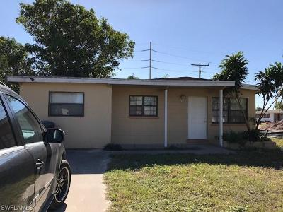 Fort Myers Single Family Home For Sale: 3102 Second St