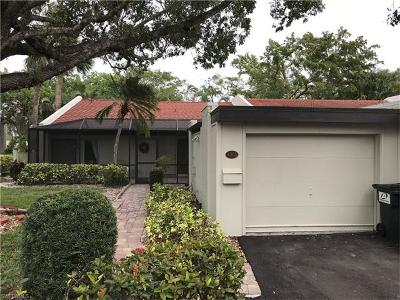 Fort Myers Condo/Townhouse For Sale: 4395 E Mainmast Ct